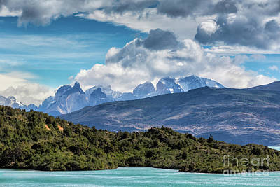 Photograph - Clouds On The Cuernos by Stuart Gordon