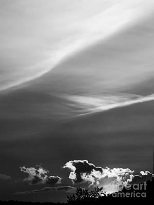 Clouds On The Horizon Art Print