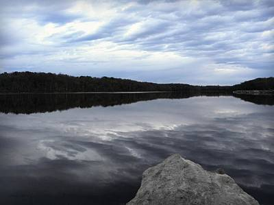 Photograph - Clouds On The Lake by Chris Berry