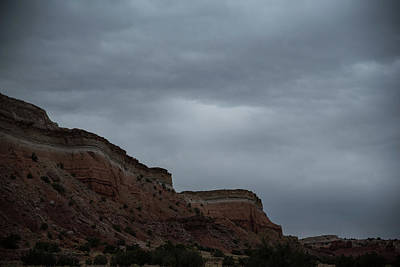Photograph - Clouds On The Mesa by Tom Cochran