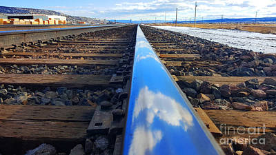 Photograph - Clouds On The Rail by Robert WK Clark