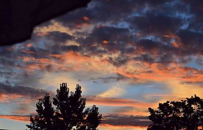 Photograph - Clouds Or Sun ? by Kathy Eickenberg