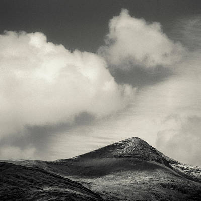Clouds Over Ben More Art Print