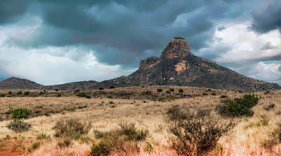 Photograph - Clouds Over Big Bend by Bonnie Davidson