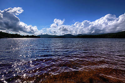 Photograph - Clouds Over Blue Mountain Lake by David Patterson
