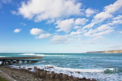 Sennen Cove Photograph - Clouds Over Cape Cornwall by Terri Waters