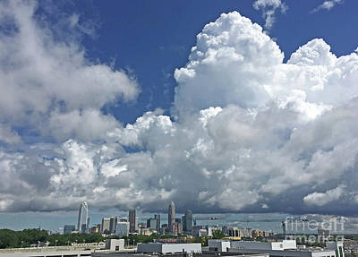 Photograph - Clouds Over Charlotte by Kevin McCarthy