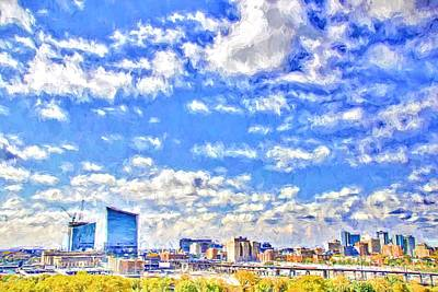Photograph - Clouds Over Cira by Alice Gipson