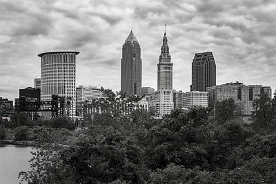 Photograph - Clouds Over Cleveland Ohio by Dale Kincaid