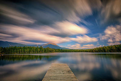 Photograph - Clouds Over Daicey Pond by Rick Berk