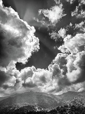 Photograph - Clouds Over El Yunque by Gabriel Diaz
