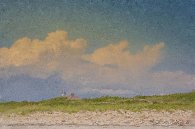 Clouds Over Goosewing Art Print
