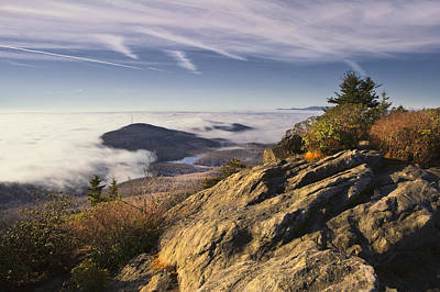 Photograph - Clouds Over Grandmother Mountain by Ken Barrett