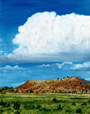 Painting - Clouds Over Grants by Jan Amiss Photography