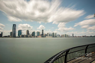 Photograph - Clouds Over Jersey City by Reynaldo Brigantty
