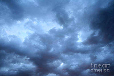 Photograph - Clouds Over Kansas by E B Schmidt