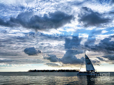 Photograph - Clouds Over Key West by John Rizzuto