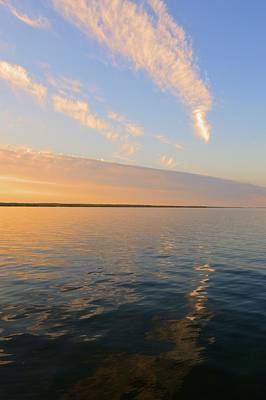 Photograph - Clouds Over Lake Simcoe In June  by Lyle Crump