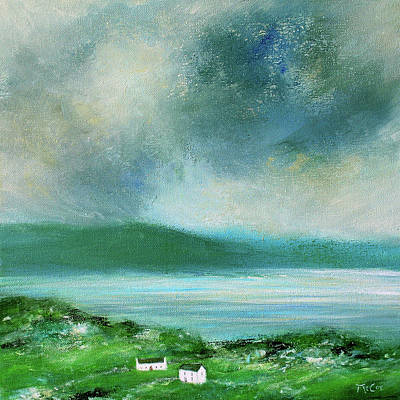 Painting - Clouds Over Malin Head, Donegal by K McCoy
