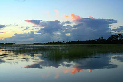 Photograph - Clouds Over Marsh by Patricia Schaefer