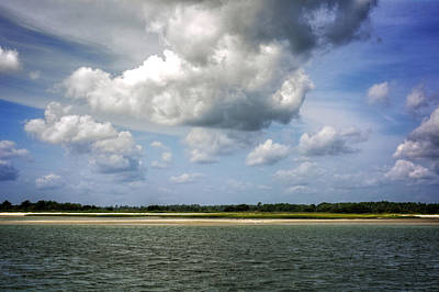 Photograph - Clouds Over Masonboro Island by Greg Mimbs
