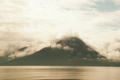 Photograph - Clouds Over Mountain by Yulia Kazansky