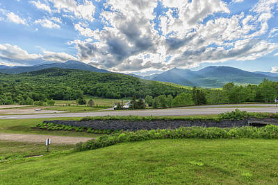 Photograph - Clouds Over Mt Washington by Brian MacLean