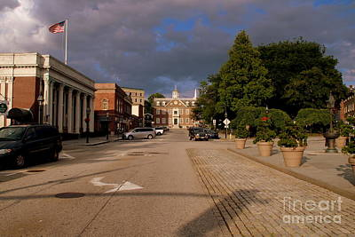 Photograph - Clouds Over Newport by Lennie Malvone