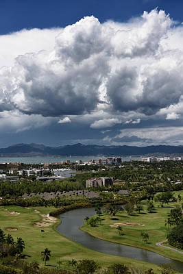 Nuevo Vallarta Photograph - Clouds Over Nicklaus Design Golf Course At Nuevo Vallarta Mexico by Reimar Gaertner
