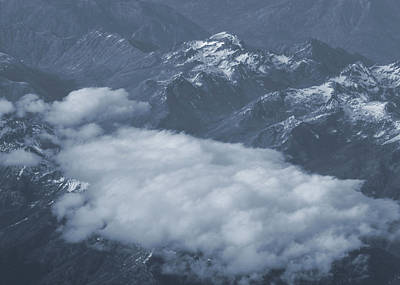 Photograph - Clouds Over North Cascade Mountain Range by Dan Sproul