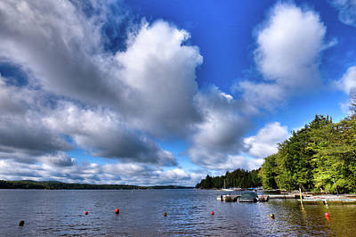 Photograph - Clouds Over Palmer Point by David Patterson