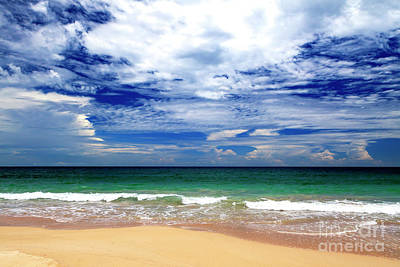 Photograph - Clouds Over Red Frog Beach Panama by John Rizzuto