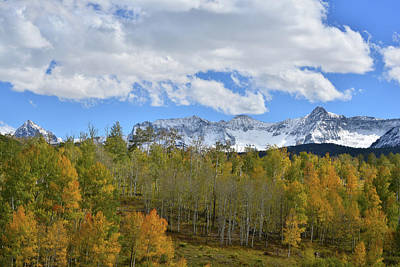 Photograph - Clouds Over San Juan Mountains by Ray Mathis