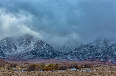 Photograph - Clouds Over Sierra by Jonathan Nguyen