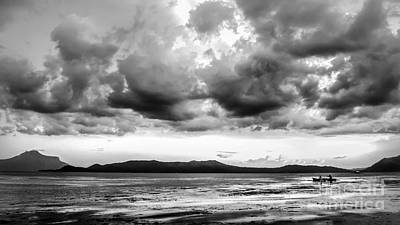 Photograph - Clouds Over Taal Volcano Philippines by Michael Arend