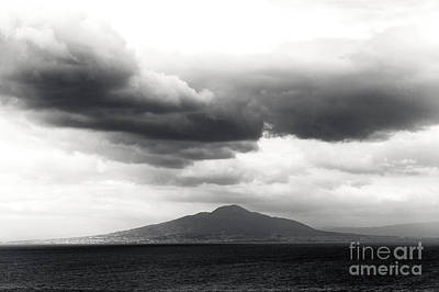 Photograph - Clouds Over The Bay Of Naples by John Rizzuto