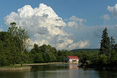 Photograph - Clouds Over The Boathouse by Bill Jordan