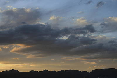 Photograph - Clouds Over The Cerbats by Christopher Kirby
