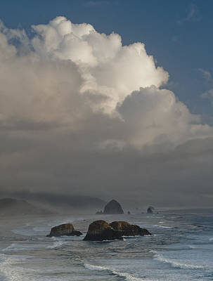 Photograph - Clouds Over The Coast by Robert Potts