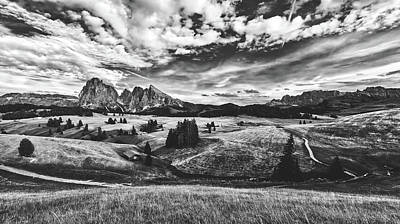 Photograph - Clouds Over The Dolomites by Pixabay