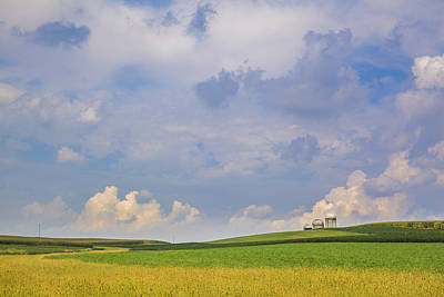 Photograph - Clouds Over The Fields by Alex Potemkin