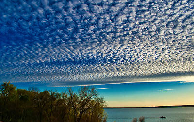 Photograph - Clouds Over The Lake by Robert Brown