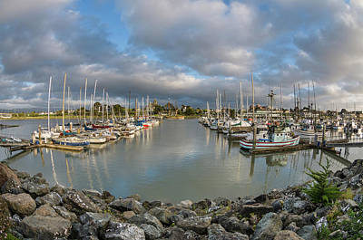 Photograph - Clouds Over The Marina by Greg Nyquist