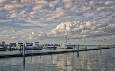 Photograph - Clouds Over The Marina by Jane Luxton