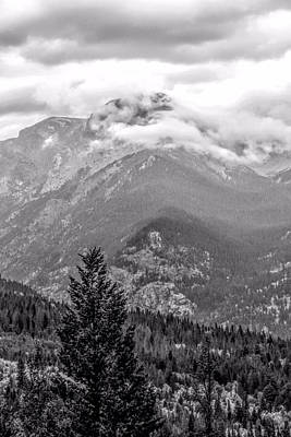 Photograph - Clouds Over The Rocky Mountains by Dan Sproul