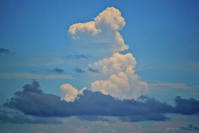 Photograph - Clouds Over Tybee Island by Tara Potts
