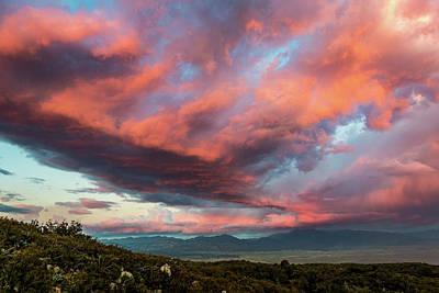 Clouds Over Warner Springs Art Print