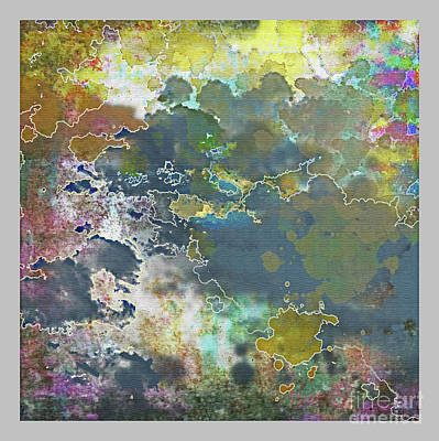 Clouds Over Water Art Print
