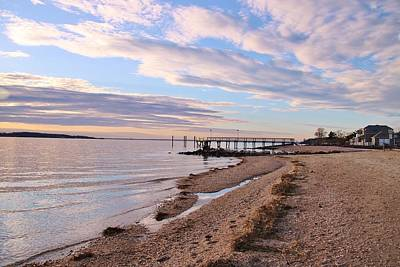 Photograph - Clouds Over West Neck by Karen Silvestri