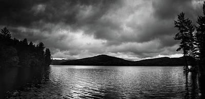 Photograph - Clouds Over Wyman Lake by John Meader